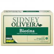 Biotina 30 Mcg - Sidney Oliveira 60 Comprimidos