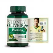 Biotina 30 Mcg (Pele, Cabelos e Unhas) - Sidney Oliveira Leve 240 Pague 180 Cápsulas