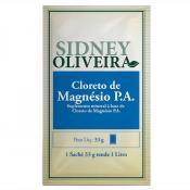 Cloreto de Magnésio P.A. - Sidney Oliveira Sachês 33g