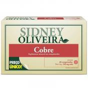 Cobre 900mcg - Sidney Oliveira 60 Comprimidos