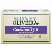 Coenzima Q10 25 Mg - Sidney Oliveira 30 Comprimidos