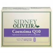 Coenzima Q10 25mg - Sidney Oliveira 10 Comprimidos