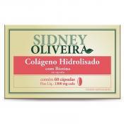 Colágeno Hidrolisado + Biotina 1300mg - Sidney Oliveira 60 Cápsulas