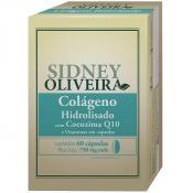 Colágeno Hidrolisado + Coenzima Q10 + Vitaminas 750mg - Sidney Oliveira 60 Cápsulas
