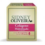 Colágeno Hidrolisado 1339mg - Sidney Oliveira 60 Comprimidos