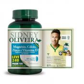 Magnesio + Cálcio + Zinco + Vitamina D 1000 Mg - Sidney Oliveira Leve 240 Pague 180 Cápsulas
