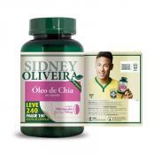 Óleo de Chia 500 Mg - Sidney Oliveira Leve 240 Pague 180 Cápsulas