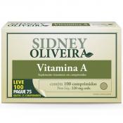 Vitamina A 600 Mcg - Sidney Oliveira Leve 100 Pague 75 Comprimidos