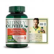 Vitamina C + Zinco 250mg - Sidney Oliveira Leve 240 Pague 180 Cápsulas