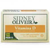 Vitamina D 200 Ui - Sidney Oliveira Leve 100 Pague 75 Comprimidos