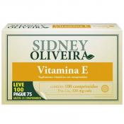 Vitamina E 10mg - Sidney Oliveira Leve 100 Pague 75 Comprimidos