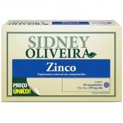 Zinco 7mg - Sidney Oliveira 60 Comprimidos