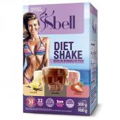 Sbell Diet Shake 900g - 3 Sabores - Baunilha, Chocolate e Morango 300g Cada