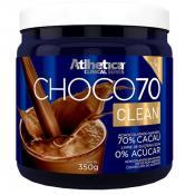 Choco 70 Clean 350g (achocolatado natural) Atlhetica Nutrition