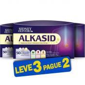Alkasid 50 Comprimidos Sabores Sortidos Mastigáveis - Sidney Oliveira (Leve 3 Pague 2 - 150 Comprimidos)
