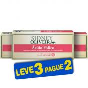 Ácido Fólico 355mcg - Sidney Oliveira 20 Comprimidos (Leve 3 Pague 2)