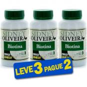 Biotina 30mcg - Sidney Oliveira 60 Cápsulas (Leve 3 Pague 2)