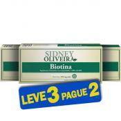 Biotina 30 Mcg - Sidney Oliveira 60 Comprimidos (Leve 3 Pague 2)