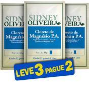 Cloreto de Magnésio P.A. - Sidney Oliveira Sachês 33g (Leve 3 Pague 2)