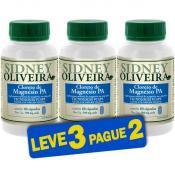 Cloreto de Magnésio PA 500 Mg - Sidney Oliveira 60 Cápsulas Vegetais (vcaps) (Leve 3 Pague 2)