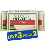 Cobre 900mcg - Sidney Oliveira 60 Comprimidos (Leve 3 Pague 2)