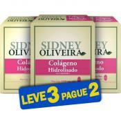 Colágeno Hidrolisado 1339mg - Sidney Oliveira 30 Comprimidos (Leve 3 Pague 2)