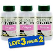 Colágeno + Vitaminas + Minerais 500 Mg - Sidney Oliveira 30 Cápsulas (Leve 3 Pague 2)