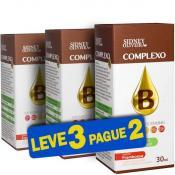 Complexo B Gotas - Sidney Oliveira Sabor Framboesa 30ml (Leve 3 Pague 2)