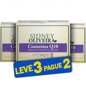 Coenzima Q10 25mg - Sidney Oliveira 10 Comprimidos (Leve 3 Pague 2)