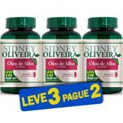 Óleo de Alho 250 Mg - Sidney Oliveira Leve 240 Pague 180 Cápsulas (Leve 3 Pague 2)