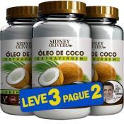 Óleo de Coco Extra Virgem Edu Guedes - Sidney Oliveira 200ml (Leve 3 Pague 2)