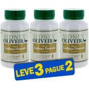 Óleo de Linhaça Dourada 500mg - Sidney Oliveira 60 Cápsulas (Leve 3 Pague 2)