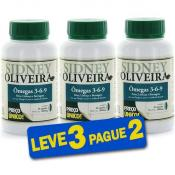 Ômega 3-6-9 Homem - Sidney Oliveira 30 Cápsulas (Leve 3 Pague 2)