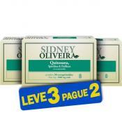 Quitosana + Spirulina + Psyllium 1000mg - Sidney Oliveira 30 Comprimidos (Leve 3 Pague 2)