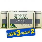 Selênio 34mcg - Sidney Oliveira Leve 100 Pague 75 Comprimidos (Leve 3 Pague 2)