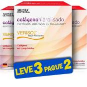 Colágeno Hidrolisado Verisol 1339 Mg - Sidney Oliveira Com 60 Comprimidos (Leve 3 Pague 2)