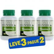 Vitamina A 600mcg - Sidney Oliveira 60 Cápsulas (Leve 3 Pague 2)