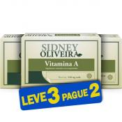 Vitamina A 600 Mcg - Sidney Oliveira 60 Comprimidos (Leve 3 Pague 2)