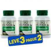 Vitamina B1 1,2 Mg - Sidney Oliveira 60 Cápsulas (Leve 3 Pague 2)