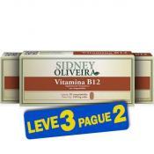 Vitamina B12 250 Mg - Sidney Oliveira 20 Comprimidos (Leve 3 Pague 2)