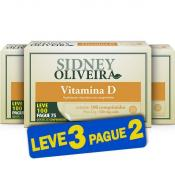 Vitamina D 200 Ui - Sidney Oliveira Leve 100 Pague 75 Comprimidos (Leve 3 Pague 2)