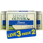 Zinco 7mg - Sidney Oliveira 60 Comprimidos (Leve 3 Pague 2)