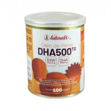 Ômega 3 DHA 500 100 cápsulas Naturalis