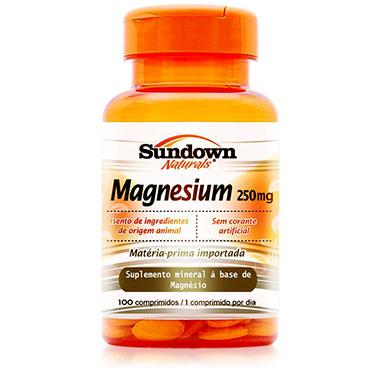 Magnesium 250mg 100 comprimidos Sundown