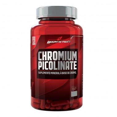 Cromo Picolinato 100 cápsulas Body Action