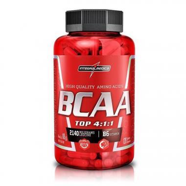 BCAA Top 4:1:1 (980mg por Cáps) 120 Cápsulas Integralmédica