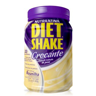 Diet Shake Crocante 400g Nutrilatina