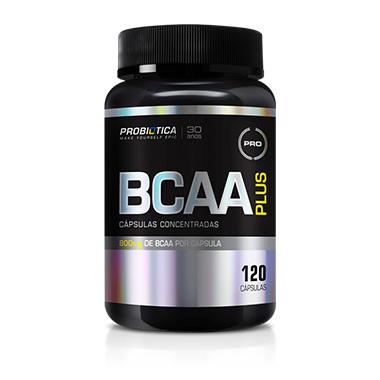 BCAA Plus 120 cápsulas Probiótica