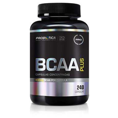 BCAA Plus 240 cápsulas Probiótica