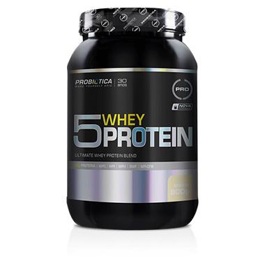 5 Whey Protein 900g Probiótica